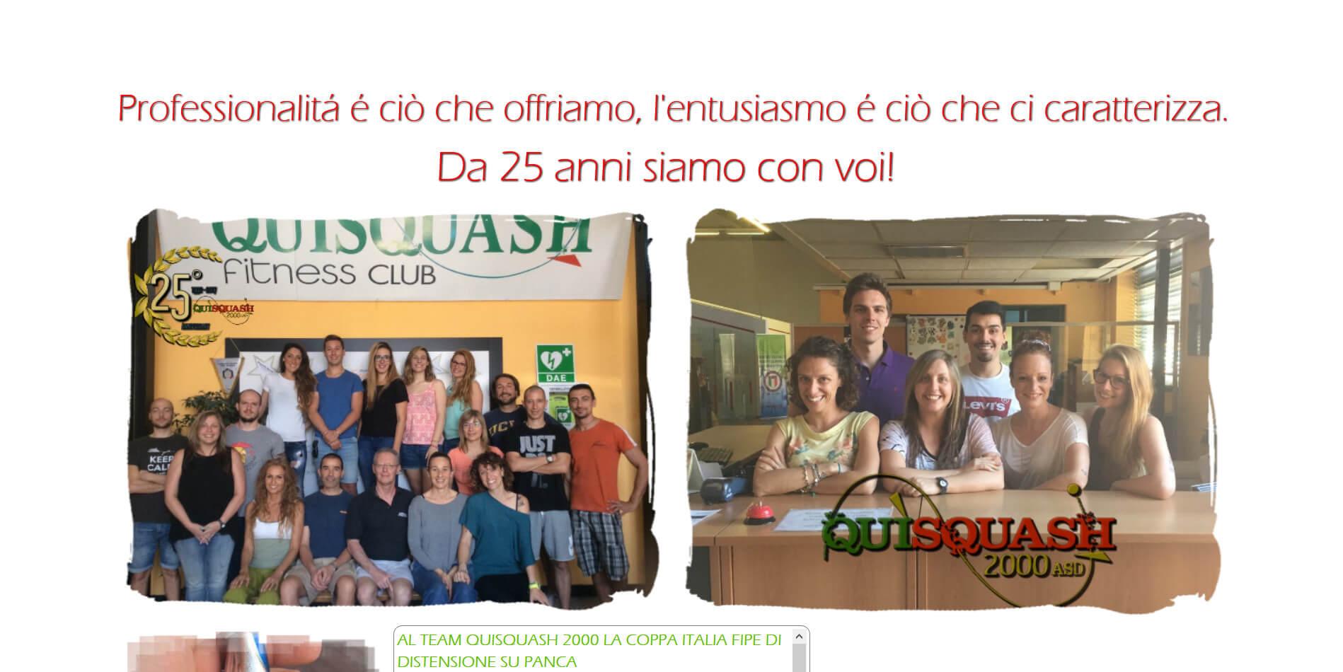 Sito Quisquash Novara 2016
